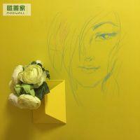 磁善家全国批发磁性板可定制尺寸创意彩色板磁性樱草黄墙贴