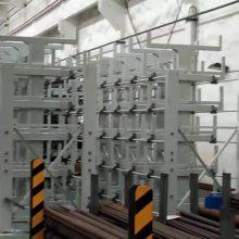 四川悬臂式货架厂家电话 ZY041709 建材货架 伸缩式管材架尺寸