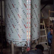 供应广州10立方油罐侧装磁翻板液位计生产厂家