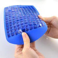 160格硅胶冰格 硅胶160格冰格 1cm小方块冰格 碎碎冰冰格