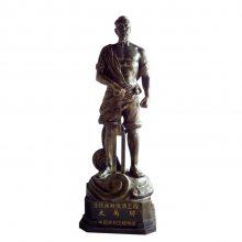 古代人物铸铜雕像大禹名人全身站立肖像雕塑玻璃钢半身头胸铜塑像人造砂岩石雕坐像广场景观摆件