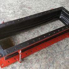 厂家直销耐腐蚀矩形橡胶补偿器,DN2000×DN2500烟风道用柔性橡胶膨胀节报价电话