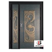 温州市博邦门业特色铸铝门 防盗安全门 优质欧式门