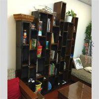 博古架实木家具老船木红木多宝格旧木置物架书架茶叶架古玩展示架