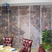 青岛Typ-65型办公室移动隔断 墙纸屏风中式风格欢迎咨询