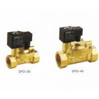 二位二通先导式黄铜电磁阀DFD-10 15 20 25 32 40 50