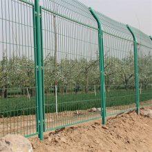 框架护栏网现货 双边丝围栏网 场地围网价格