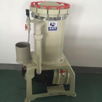 大流量袋式电镀化学药液过滤 30吨耐腐蚀耐酸碱泵 污水设备