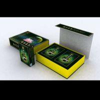 深圳地盖橄榄油包装盒定制 金银卡纸烫金精装盒定做 专业纸质精品盒