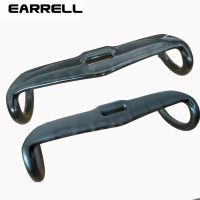 EARRELL碳纤维黑色车把分体弯把自行车配件31.8×400 420 440mm