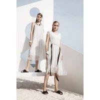 大量品牌折扣女装雪纺连衣裙上新品牌女装批发