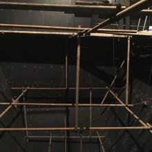 超高分子量聚乙烯衬板 煤仓衬板 料仓衬板 树脂衬板施工厂家