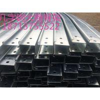 大棚骨架几字钢双膜c型钢钢架厂家