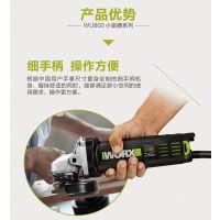 威克士小蛮腰角磨机WU800 多功能电动迷你细手柄切割打磨抛光磨光