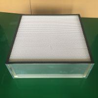 有隔板无隔板镀锌框过滤器洁净室空气净化高效过滤器
