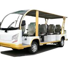 敞开式14座电动观光车,杭州西湖景区旅游观光车
