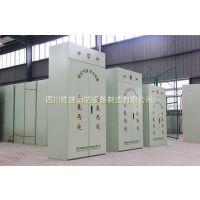 四川成都柜式七氟丙烷气体灭火装置GQQ120x2/2.5四川胜捷生产厂家