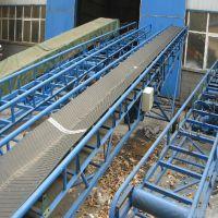 槽钢主架皮带输送机 沙子装卸车皮带式运输机 六九