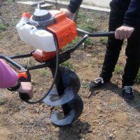 栽树打洞机厂家 工程立式打孔机 佳鑫施肥挖坑机图片