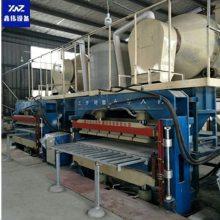 鑫达玻化微珠保温板生产线设备 珍珠岩保温板压板机设备生产厂家