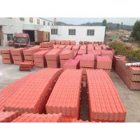 河北沧州屋顶asa树脂瓦 陶瓷树脂琉璃瓦 pvc防腐塑钢瓦