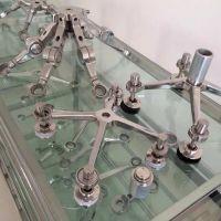 耀恒 不锈钢驳接爪 建筑不锈钢玻璃爪件 高强度 幕墙配件