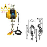 Mini Electric Wire Rope Hoist Suspension Hoist