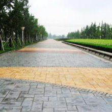 福建省 福州市彩色压模地坪水泥压印地面石质纹理厂区专卖