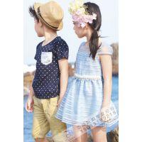 【森门】 夏 韩版新款儿童套装 品牌折扣童装尾货库存清仓 专柜正品走份批发