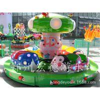 热销好玩的儿童瓢虫乐园可爱的瓢虫造型郑州宏德游乐供应旋转小火车