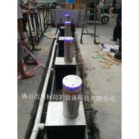 盾标防护生产手动升降柱报价、2017新款机电动液压一体式升降柱路障