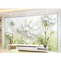 竹木纤维集成墙面3D5D立体浮雕装饰背景墙 绿色环保快装集成墙板