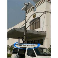 博辰QD-BC-5 天线升降杆 军用避雷升降杆 移动照明灯车