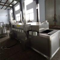 新品链板式加工定做蚕豆油炸机 黄豆浸泡机 豆腐片加工全套设备