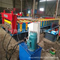 集装箱压瓦机 集装箱板生产设备 汽车厢板成型机地鑫机械厂