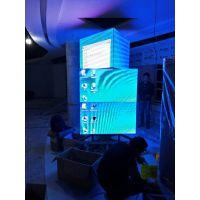室内P2.5全彩旋转屏,智语光电全面供应各种异形屏