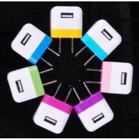 骰子折叠单USB充电器 5V1A电源适配器 美规插脚USB充电器 墙充USB火牛 BSMI认证适配器