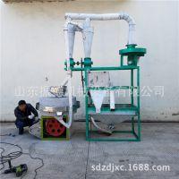 现货供应面粉石磨 大型半自动石磨磨面机 自动上料石磨电动机