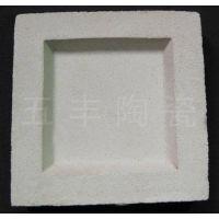 供应微孔陶瓷过滤砖电厂固液分离含煤废水处理设备 250*250*60/50mm 五峰山