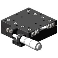 复坦希铝合金高精度角位台60×60 弧摆台 手动角度滑台