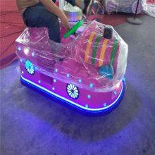 新款双人火星对战碰碰车发光太子摩托车游乐设备广场儿童火星战车