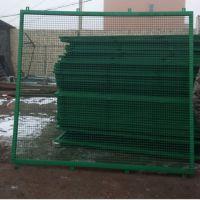 定制桥梁隔离钢丝铁丝围栏防护网道路两侧安全高速桥梁防抛网护栏