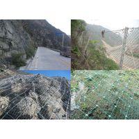 启泰边坡包石防护网.被动拦石块网.绿色安全防护网