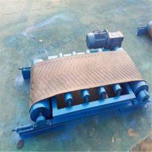 兴亚大庆市 沙子水泥耐磨输送机皮带上料机输送不间断带式输送机