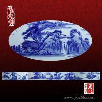 衣柜装饰青花瓷片定制 陶瓷瓷片生产厂家