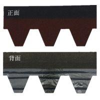 江苏彩色沥青瓦玻纤瓦自粘防水隔热屋面瓦