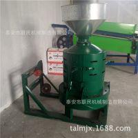 大米脱皮碾米机制造厂  家用大米抛光机 农业杂粮去皮碾米机