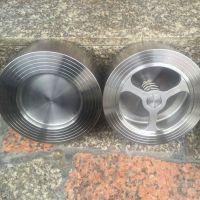 不锈钢对夹升降式止回阀 H71W-16P 温州对夹止回阀专业厂家