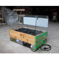 航远火山石烤肠的机器|带玻璃罩火山石烤肠机