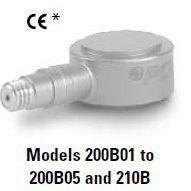 供应美国PCB压电公司 石英冲击力测力传感器 200B03